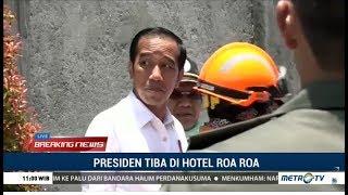 Download Video Presiden Jokowi Tiba Di Reruntuhan Hotel Roa Roa Palu MP3 3GP MP4