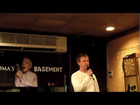 Mike Kerrigan Stand Up Comedy at Grandmas Basement 2012