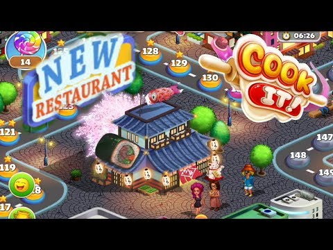 Cook It / Reaching New Restaurant😍💥/ Levels 127  To 131/ Part 4