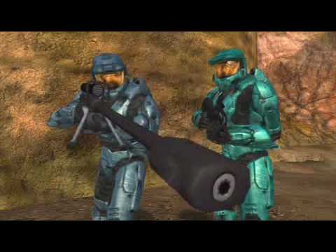 Halo 3 Red vs Blue