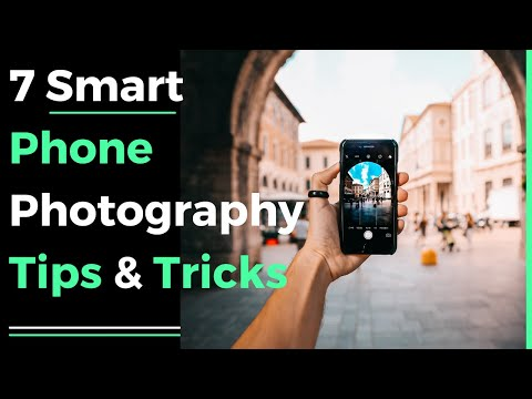 7 smart phone photography tips & tricks 2018