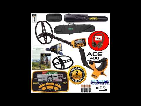 Product Review: Garrett ACE 400 Metal Detector with DD Waterproof Search Coil and Carry Bag