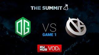 OG vs VG, game 1
