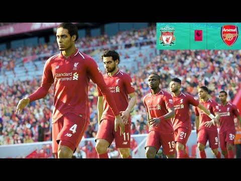 Liverpool Vs Arsenal - Premier League 29 December 2018 Gameplay