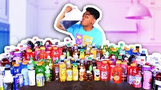 Video MIXING ALL MY 100 DRINKS TOGETHER AND DRINKING IT! MP3, 3GP, MP4, WEBM, AVI, FLV Oktober 2018