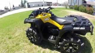 5. 2015 Can Am Outlander XMR 800R Walk Around Video