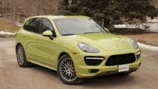 2013 Porsche Cayenne GTS Review