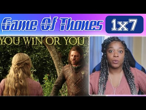 King Joffrey!!!??? Game of Thrones: Season 1, Episode 7 | You Win or You Die | REACTION!!!