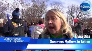Miles de inmigrantes exigieron un Dream Clean Act frente al Congreso