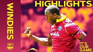 Impressive Windies Rip Into England | Windies vs England 5th ODI 2019 - Highlights
