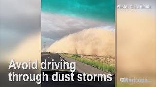 Dust Storm Driving Tips