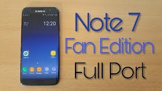 Hi,  Today we are going to take a look at the Galaxy Note Fan edition Full port for the Galaxy S7 and S7 edge.If you have urgent questions follow and write me on: ►Snapchat: timur_alaskara►Instagram: BerkBuradaDownload this rom: https://goo.gl/ggVGWvSpecial Thanks to the VN-TeamMusic: Kianush - Hütte im Wald (instrumental remake)https://www.youtube.com/watch?v=54jJeqW_jNQhttps://www.youtube.com/watch?v=W4hvyRTSs48