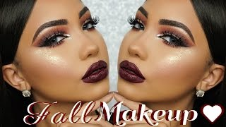 Video Fall Dark Burgundy Makeup Tutorial MP3, 3GP, MP4, WEBM, AVI, FLV Juli 2018