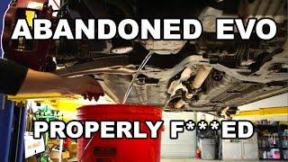 Abandoned Evo Engine Tear Down by Super Speeders