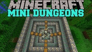 Minecraft: MINI DUNGEONS (HAUNTED HOUSE, SMALL DUNGEONS,&MORE!) Mod Showcase
