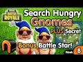Search Hungry Gnomes FORTNITE All Hungry Gnome Locations