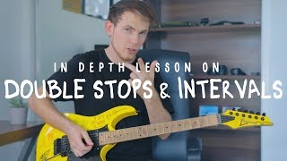 Video Using Double Stops & Intervals In Your Lead/Solo Playing (Lesson) MP3, 3GP, MP4, WEBM, AVI, FLV Juni 2018