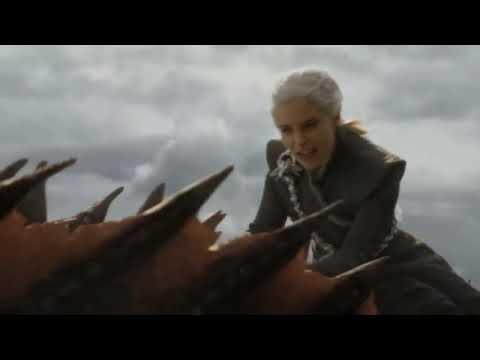 Game of thrones - Dragons scenes (Seasons 1-8)