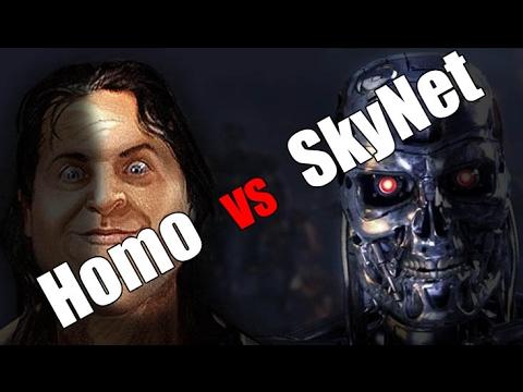 Когда будет Судный День Человечества:  SkyNet VS Homo. (видео)