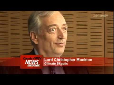 Climate Skeptic - www.country99tv.co.nz One of the world's most prominent, and controversial, climate change skeptics, has been in New Zealand this week. Lord Christopher Monc...