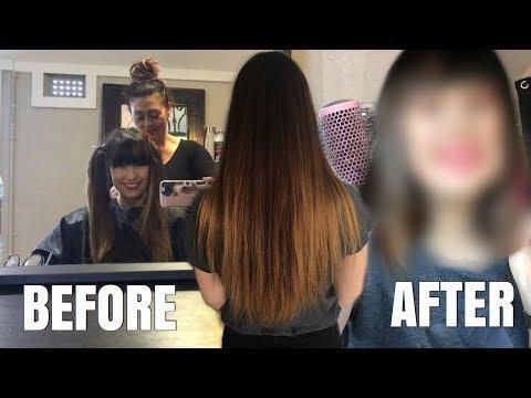 Hair cutting - CUTTING MY HAIR SHORT + REACTION FROM BFF!