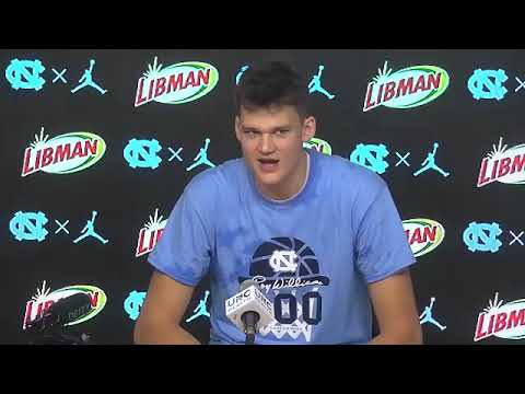 THI TV: Walker Kessler Florida State-UNC Postgame Press Conference