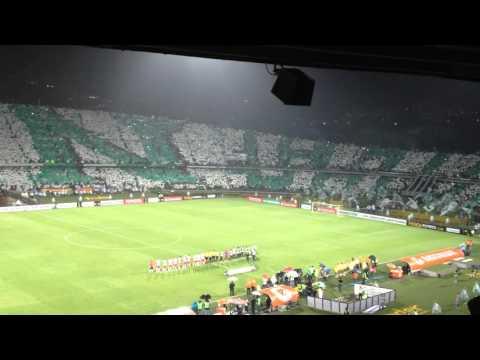 Nacional 4   Huracán 2 - Los del Sur - Atlético Nacional