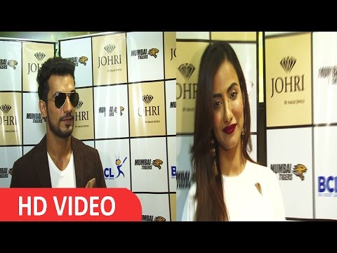 Arjun Bijlani & Tia Bajpai At Launch Soiree Of Johri By Amez Jeweller
