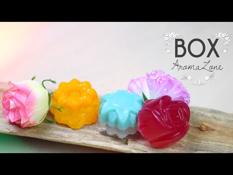 DIY - TEST : CREER VOS SAVONS AVEC LE KIT AROMAZONE - how to create organic soap (english subs)