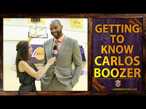 lakers - Lakers Nation interview newest Laker Carlos Boozer about what he has to do to gain the respect of the fan base. Plus, who wins one-on-one, Kobe Bryant or Michael Jordan. Join the Largest Lakers...