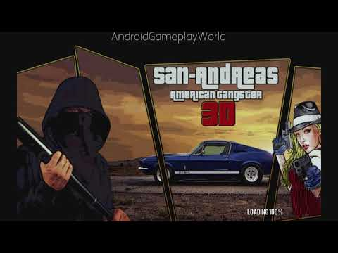 San Andreas American Gangster 3D Android Gameplay