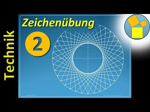 Zeichenübung 2 – Technisches Zeichnen – Rueff