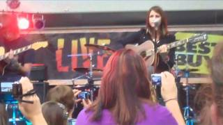 Hey Monday performs How You Love Me Now live at a Best Buy in Fairless Hills, PA on August 26th. This was followed by a CD signing session to promote the new record, Beneath It All. I would highly recommend getting it! =]