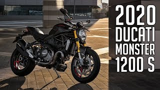 5. 2020 Ducati Monster 1200 S Launch // First Look!