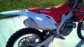 10. HONDA CRF450 2012! !!!