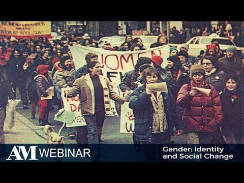 Webinar - Gender: Identity and Social Change