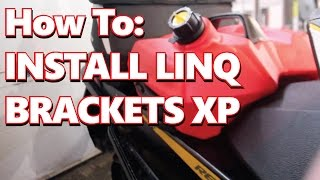 9. Ski-doo Renegade REV XP Install Linq Brackets