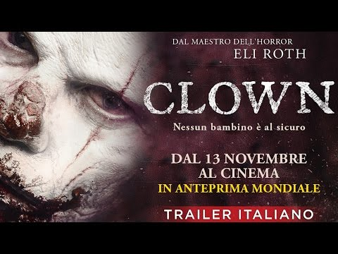 CLOWN (2014) - Trailer italiano Film Horror