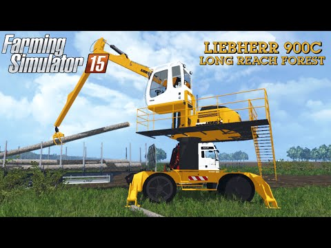 Liebherr 900c Long Reach Forest V1.0