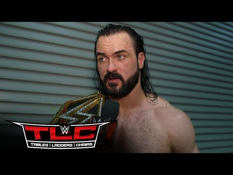 Drew McIntyre feels fortunate to walk out WWE Champion: WWE Network Exclusive, Dec. 20, 2020