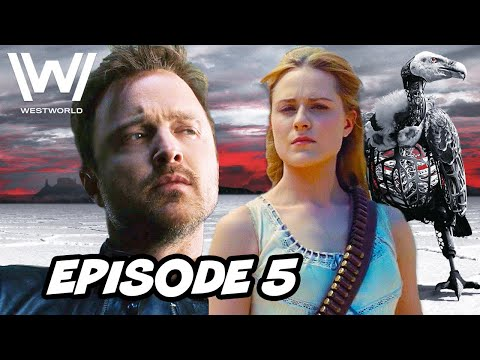 Westworld Season 3 Episode 5 HBO - TOP 10 WTF and Easter Eggs