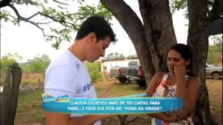 Rodrigo Faro vai a comunidade atendida pelo ChildFund Brasil levar sachets P&G