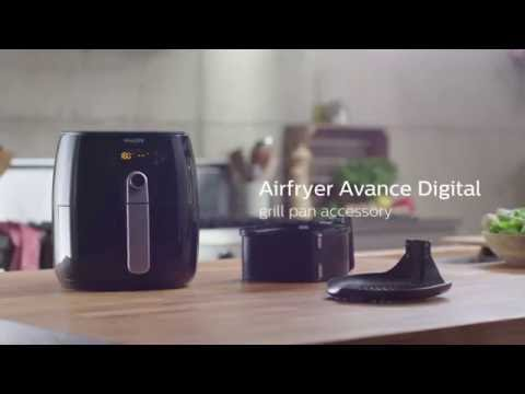 Airfryer Avance Digital | How to grill | Philips | HD9240