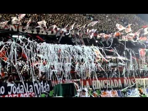 Recibimiento NEWELLS vs boca cuartos de final Copa Libertadores de America - La Hinchada Más Popular - Newell's Old Boys