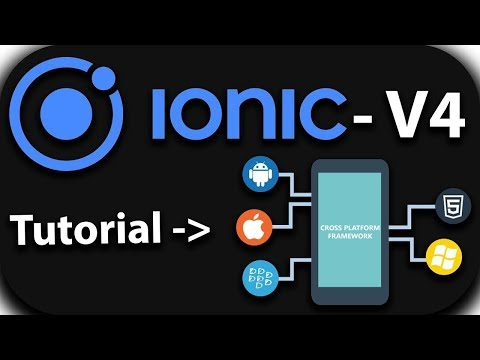 IONIC 4  #11 Side Menu and Tabs Layout