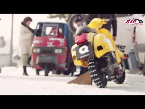 vespa: ice race - gara sul ghiaccio