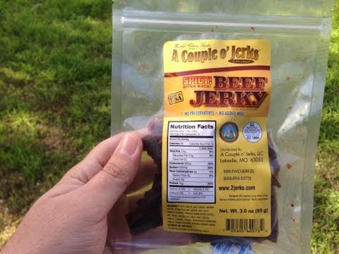A Couple O' Jerks Spicy Beef Jerky Review
