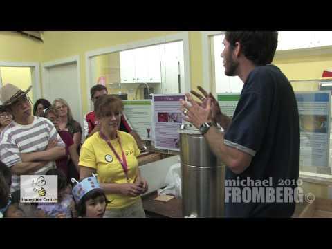 Canadian Honeybee Centre Honey Extraction 2 of 2 – Michael Fromberg