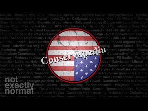Conservapedia: The Encyclopedia for Conspiracy Theorists