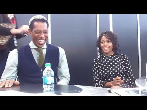 NYCC 2013 Sleepy Hollow   Orlando Jones and Nicole Beharie Part 1